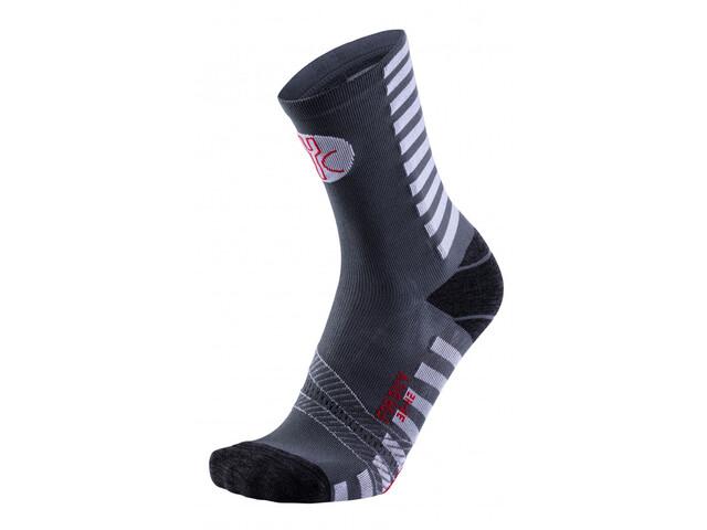 FOR.BICY Optical Socks Herren anthracite/white